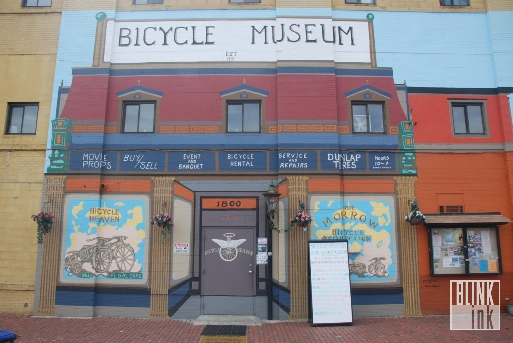 Pittsburgh's Bicycle Heaven Museum and Shop - by Blink Ink Photography