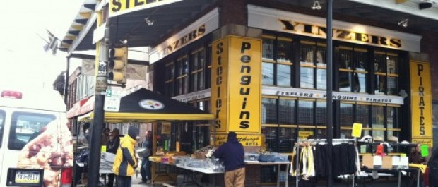 Blink Ink Pittsburgh Postcards now available at Yinzers in the Burgh